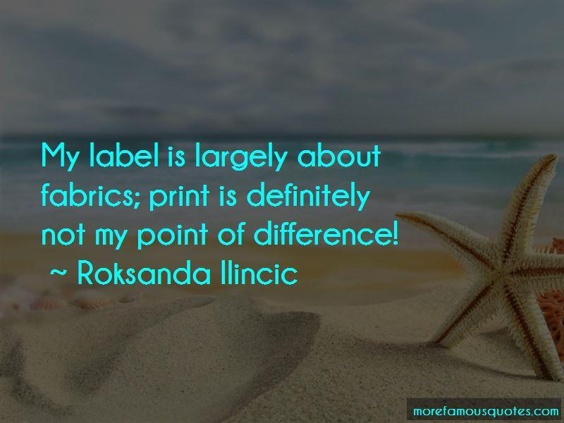 Roksanda Ilincic Quotes Pictures 3