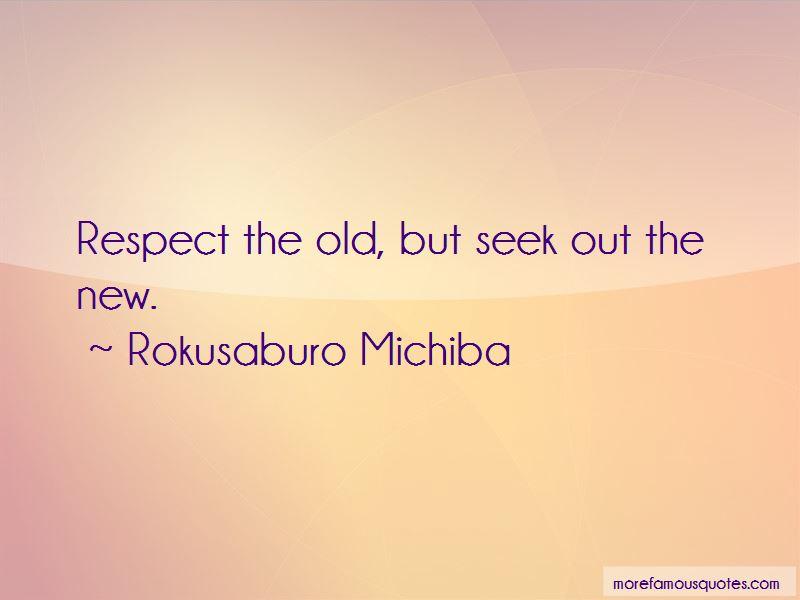 Rokusaburo Michiba Quotes
