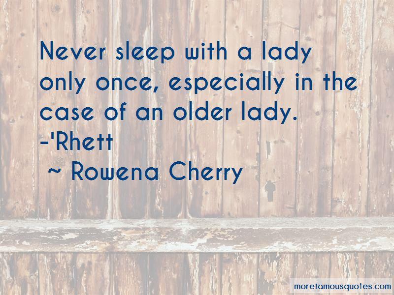 Rowena Cherry Quotes
