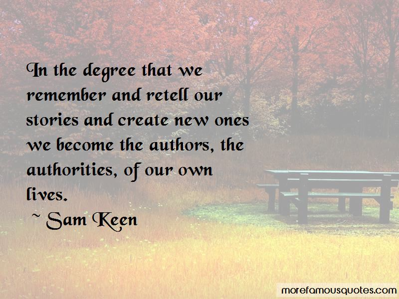 Sam Keen Quotes