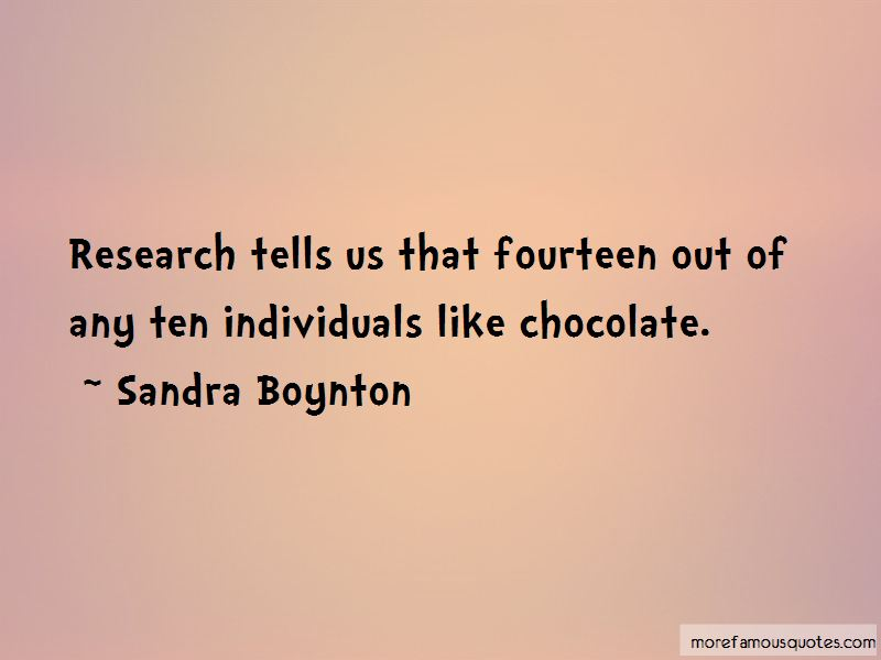 Sandra Boynton Quotes