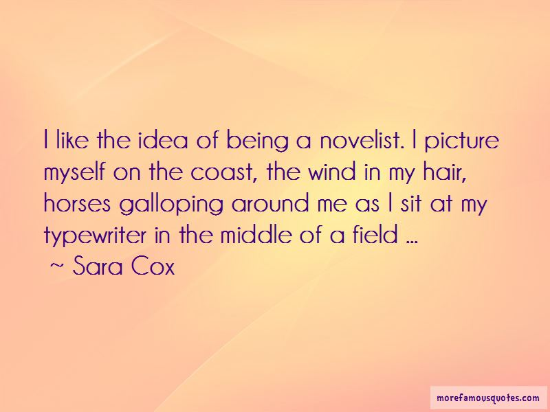 Sara Cox Quotes Pictures 3