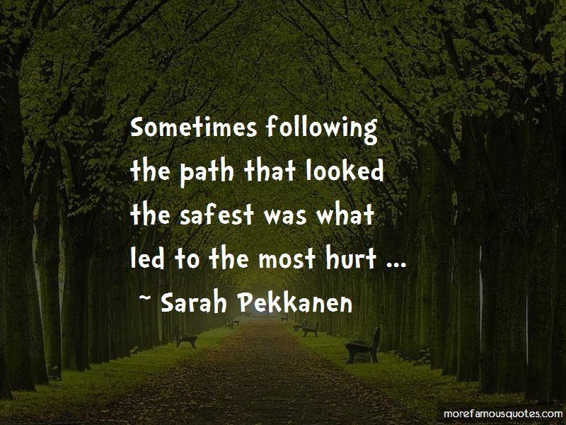 Sarah Pekkanen Quotes Pictures 2