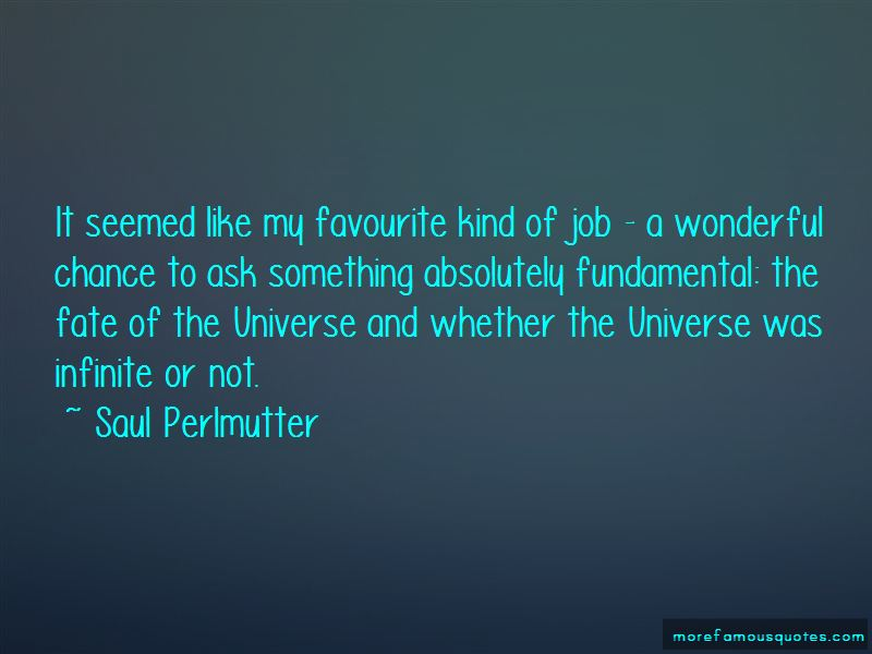 Saul Perlmutter Quotes Pictures 2