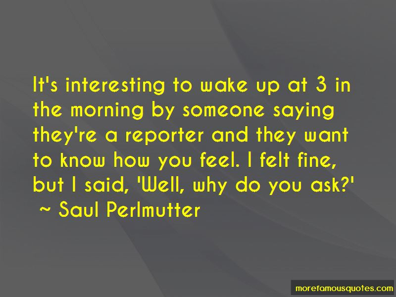 Saul Perlmutter Quotes Pictures 3