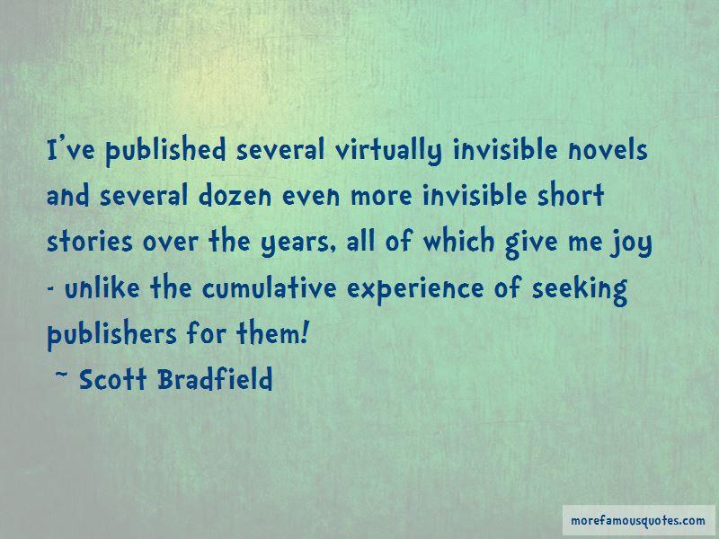 Scott Bradfield Quotes Pictures 4