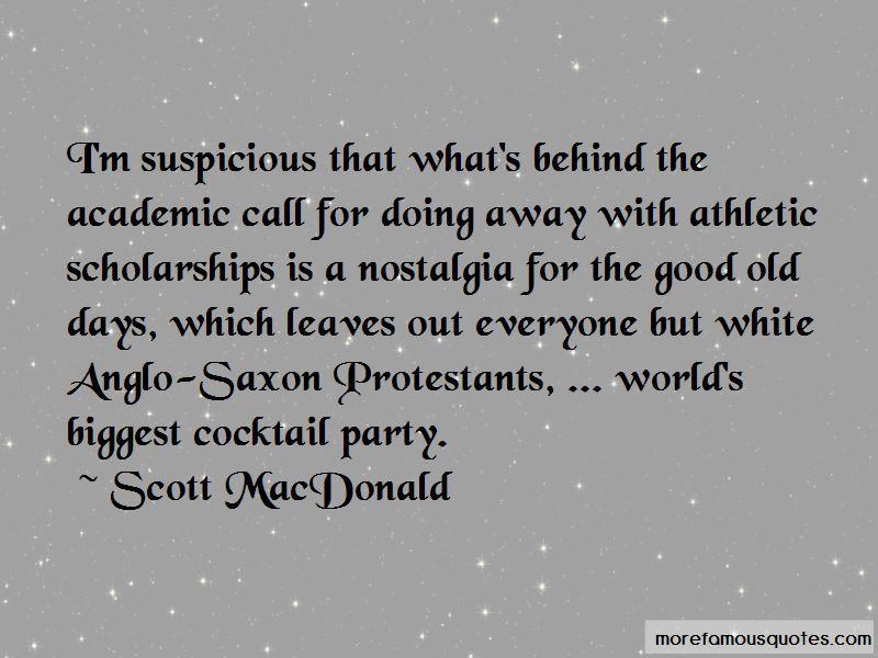 Scott MacDonald Quotes