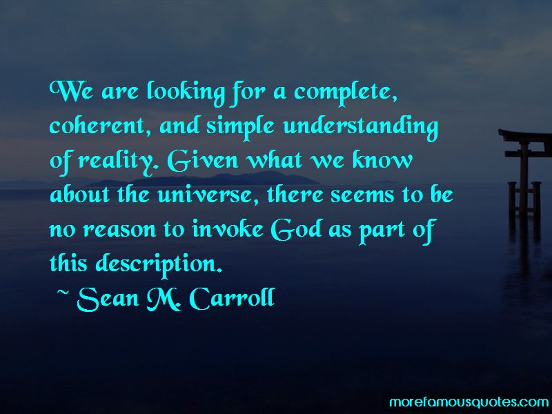 Sean M. Carroll Quotes Pictures 4