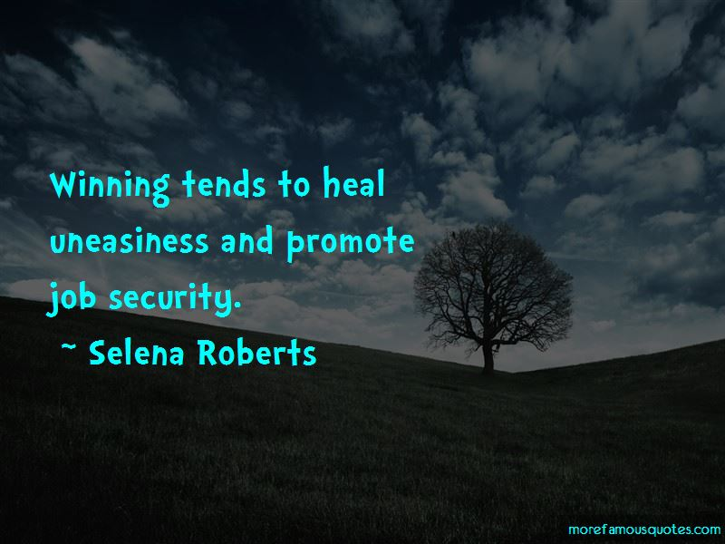 Selena Roberts Quotes Pictures 2