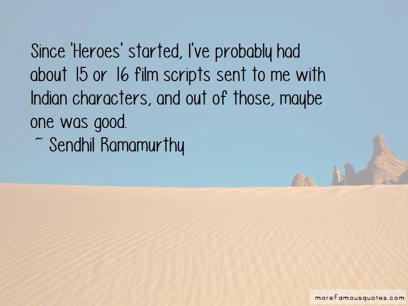 Sendhil Ramamurthy Quotes Pictures 4