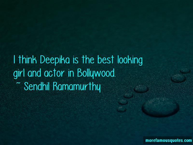Sendhil Ramamurthy Quotes