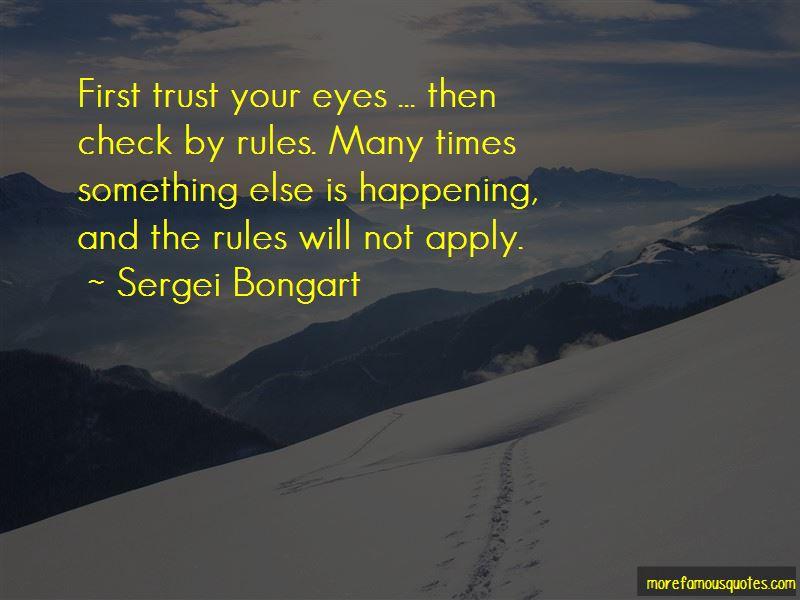 Sergei Bongart Quotes