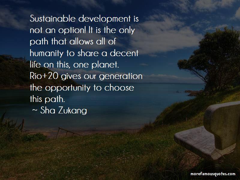 Sha Zukang Quotes Pictures 2