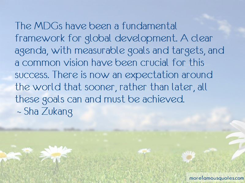 Sha Zukang Quotes Pictures 3