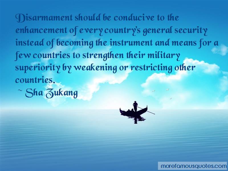 Sha Zukang Quotes