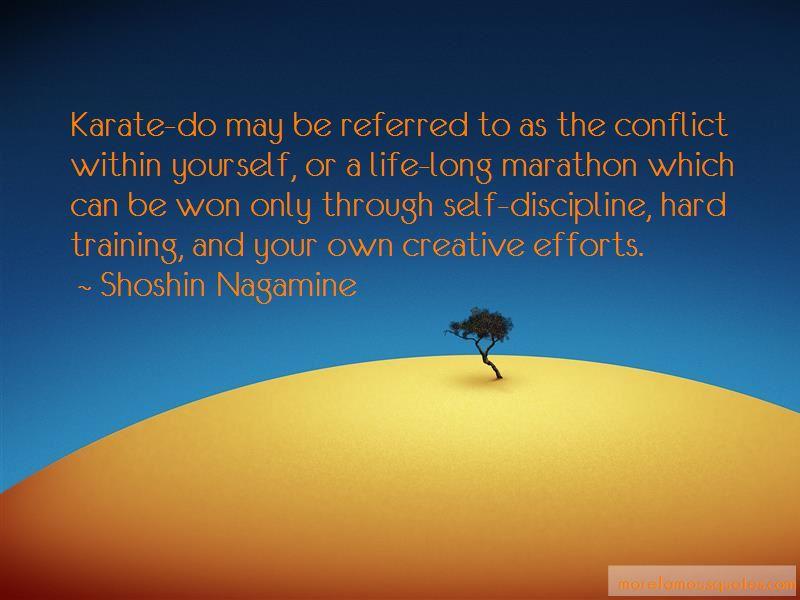 Shoshin Nagamine Quotes