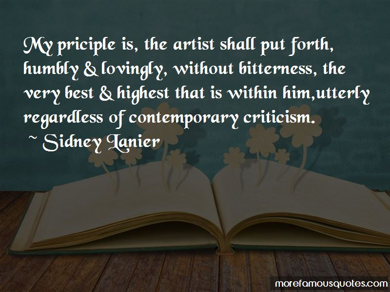 Sidney Lanier Quotes Pictures 3
