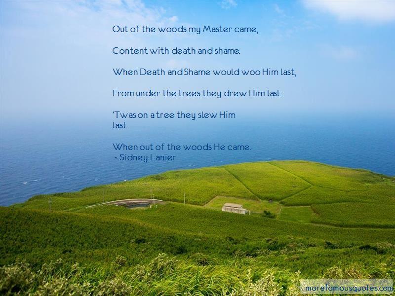 Sidney Lanier Quotes