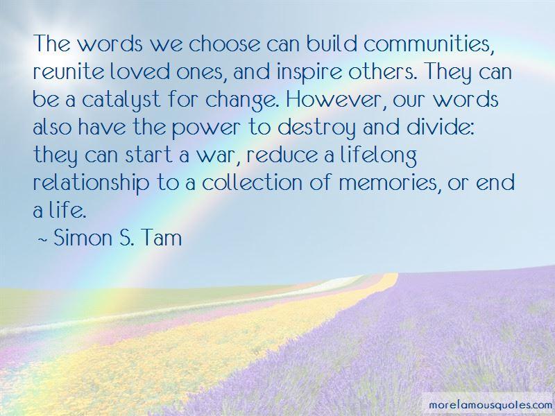 Simon S. Tam Quotes Pictures 2