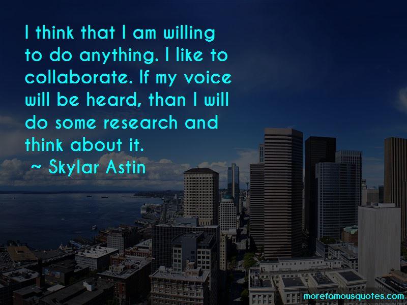 Skylar Astin Quotes
