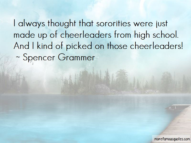 Spencer Grammer Quotes