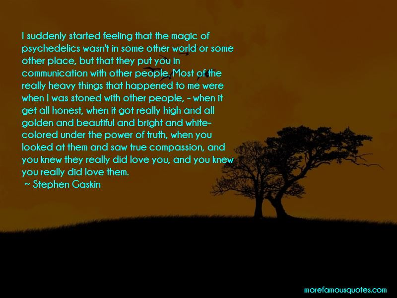 Stephen Gaskin Quotes Pictures 4