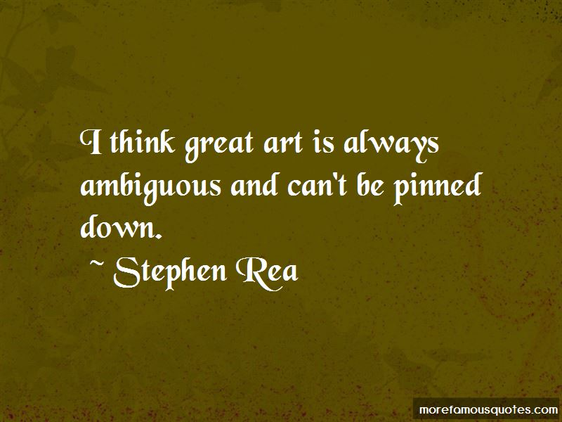 Stephen Rea Quotes Pictures 2