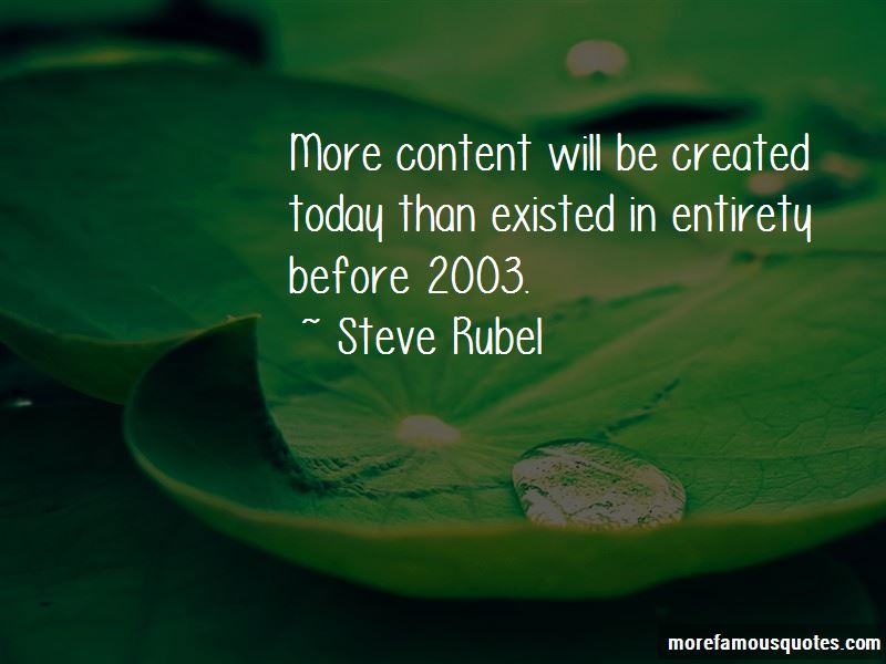 Steve Rubel Quotes Pictures 2