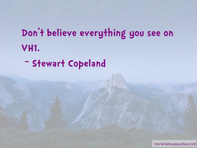 Stewart Copeland Quotes Pictures 2