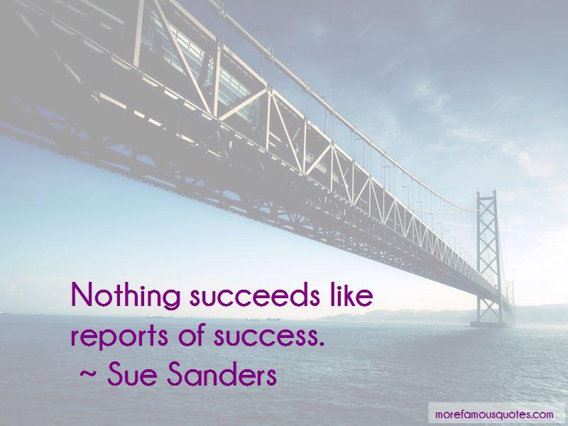 Sue Sanders Quotes