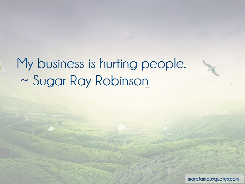 Sugar Ray Robinson Quotes Pictures 3