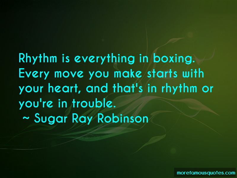 Sugar Ray Robinson Quotes Pictures 4