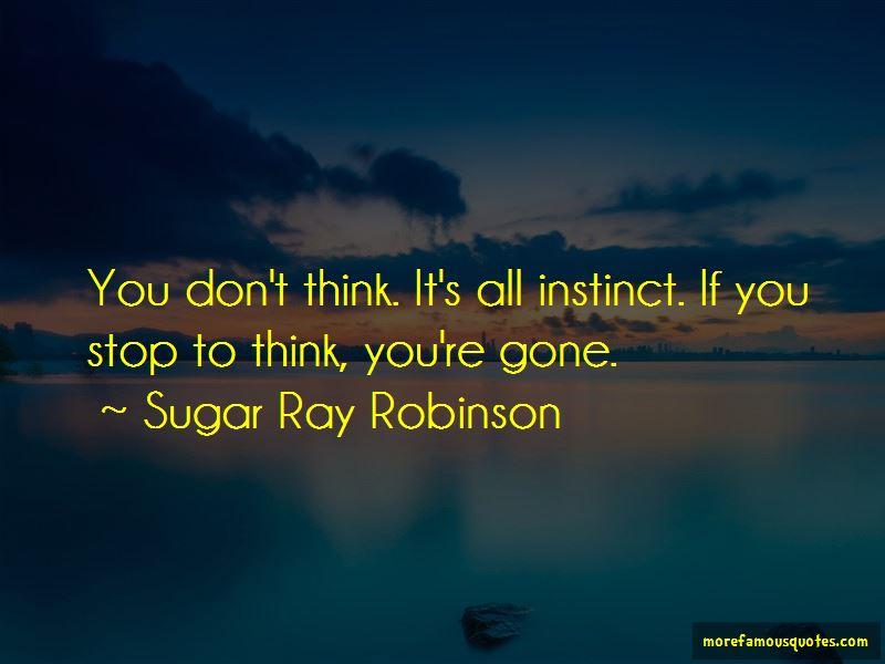 Sugar Ray Robinson Quotes