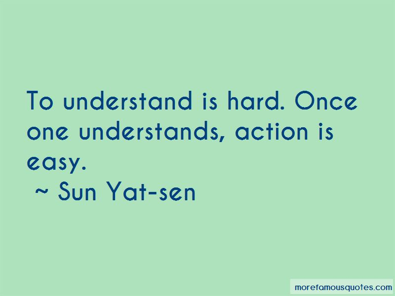 Sun Yat-sen Quotes