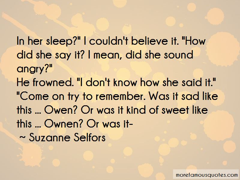 Suzanne Selfors Quotes Pictures 4