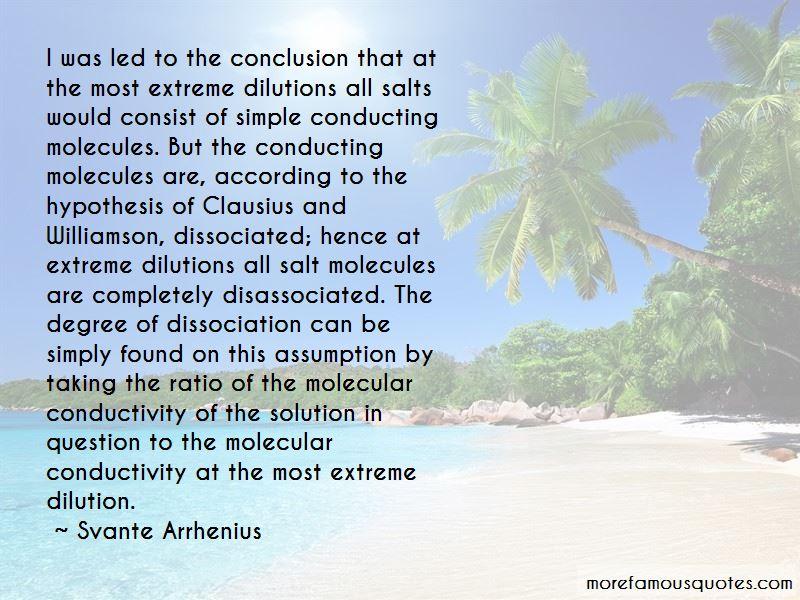 Svante Arrhenius Quotes