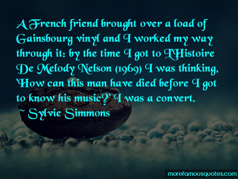 Sylvie Simmons Quotes Pictures 4