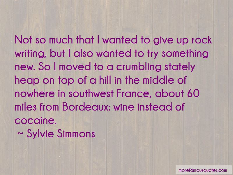 Sylvie Simmons Quotes