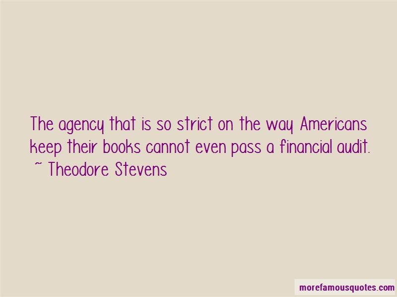 Theodore Stevens Quotes Pictures 4