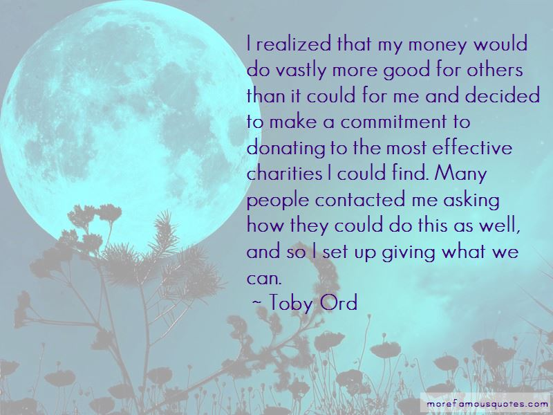 Toby Ord Quotes