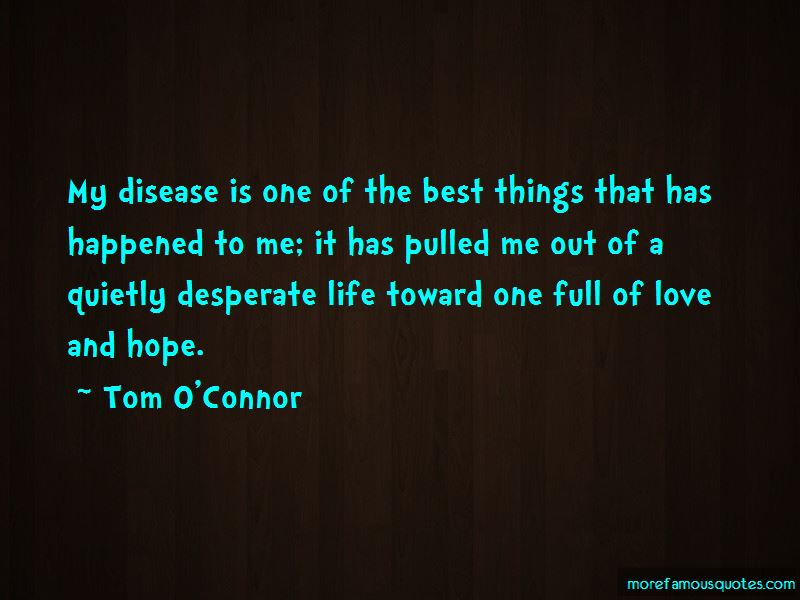 Tom O'Connor Quotes