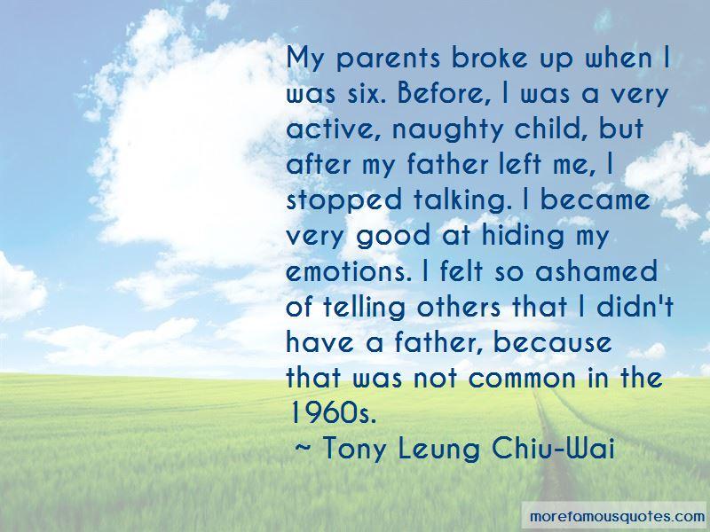 Tony Leung Chiu-Wai Quotes