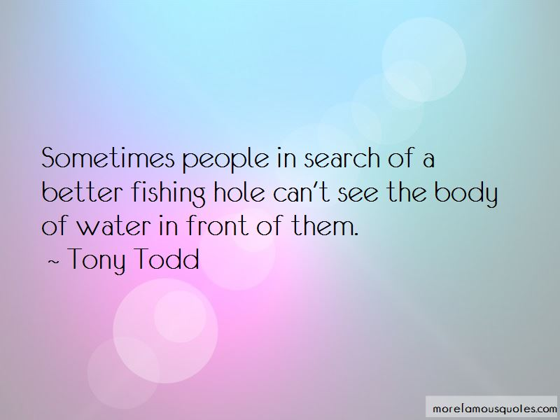 Tony Todd Quotes Pictures 2