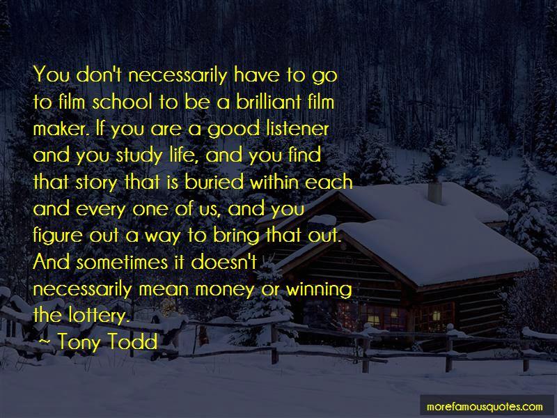 Tony Todd Quotes