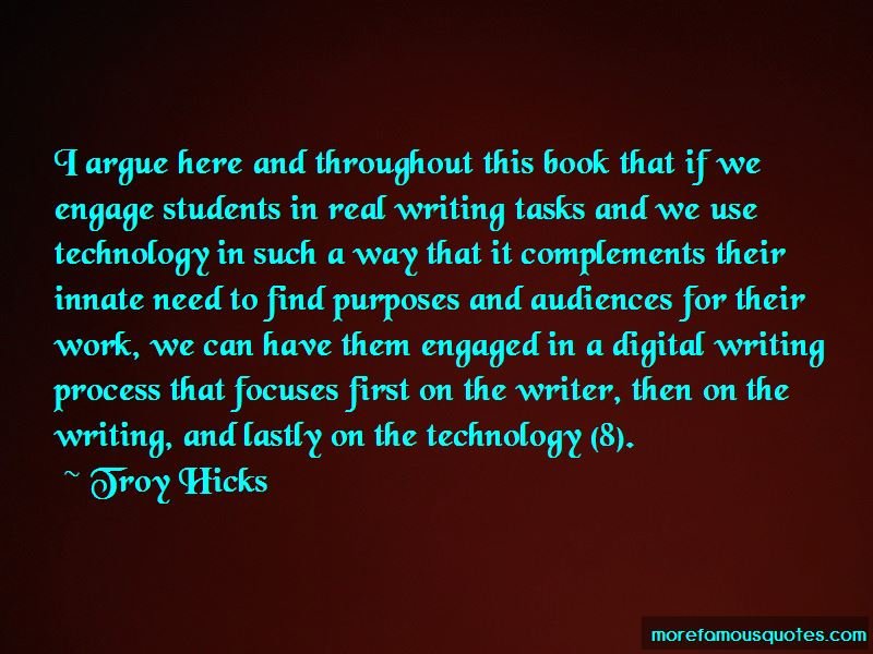 Troy Hicks Quotes Pictures 3