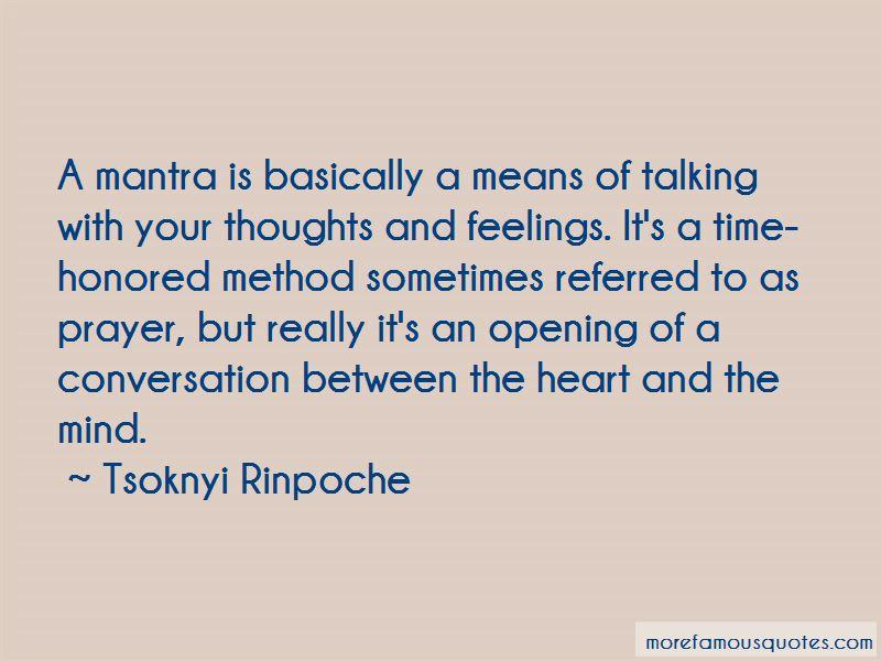 Tsoknyi Rinpoche Quotes
