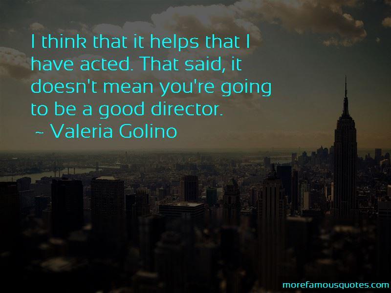 Valeria Golino Quotes Pictures 2