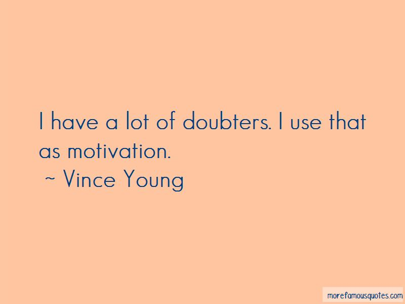 Vince Young Quotes