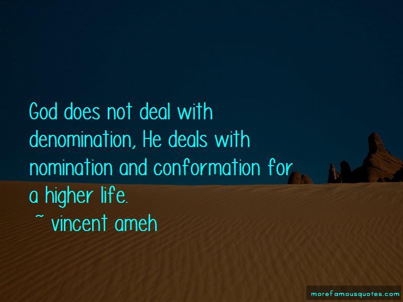 Vincent Ameh Quotes