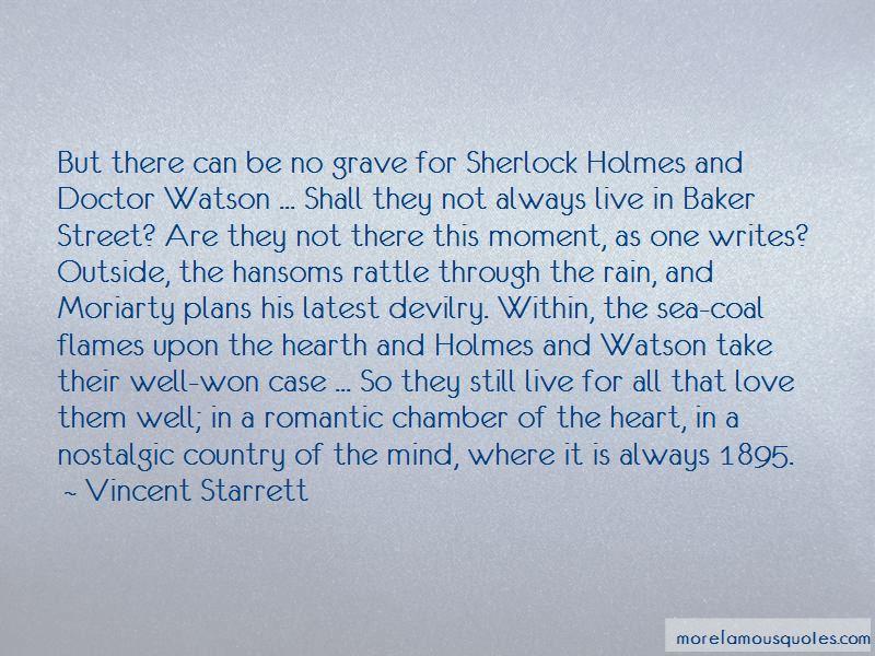 Vincent Starrett Quotes Pictures 4